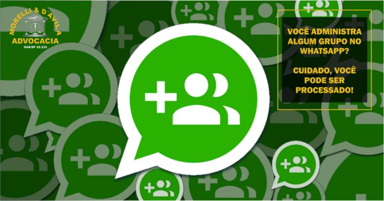 Grupo De Whatsapp Administra Algum Você Pode Ser Processado
